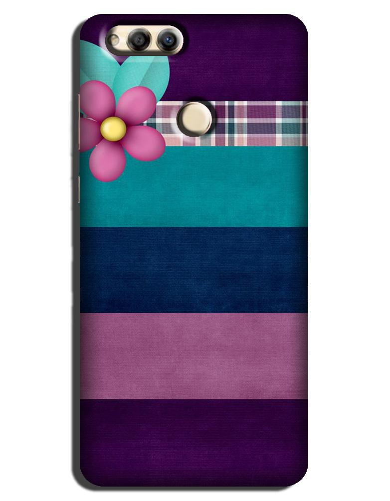 Purple Blue Case for Honor 7A