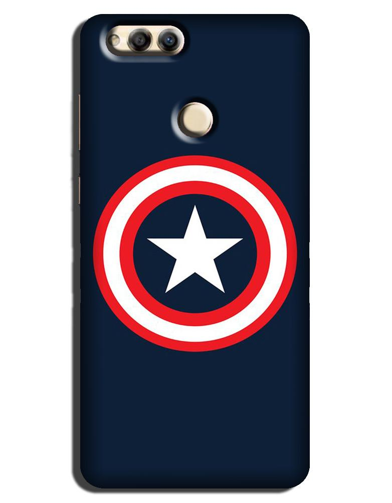 Captain America Case for Honor 7X