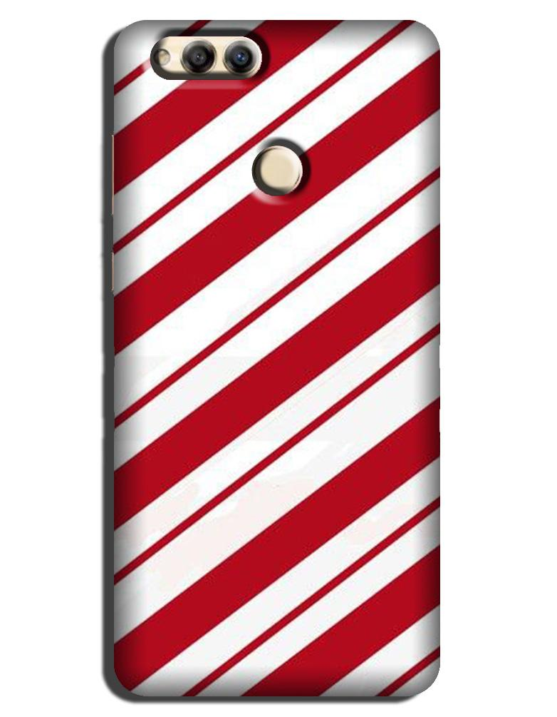 Red White Case for Honor 7X