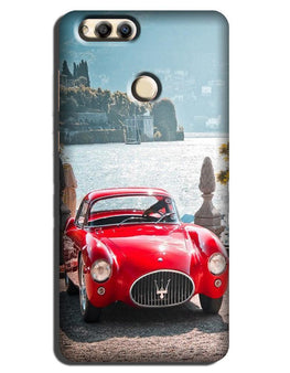 Vintage Car Case for Honor 7A