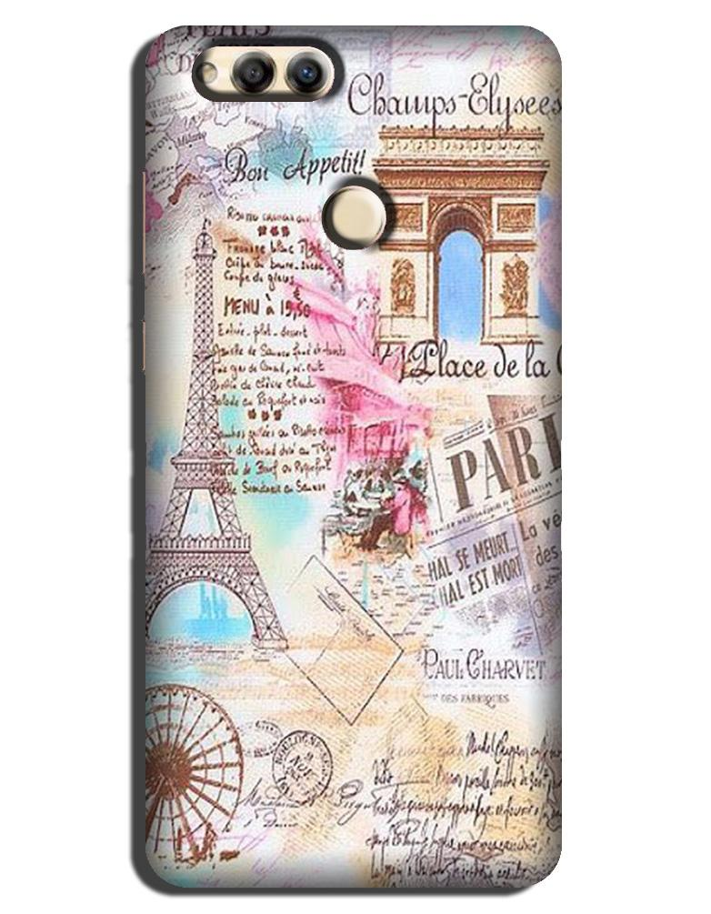 Paris Eiftel Tower Case for Honor 7X