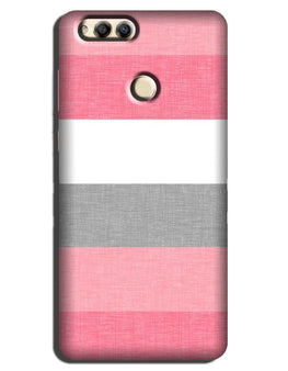 Pink white pattern Case for Mi A1