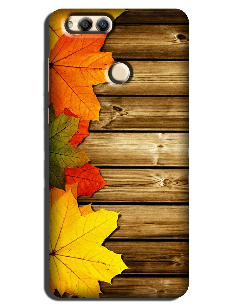 Wooden look Case for Honor 7A