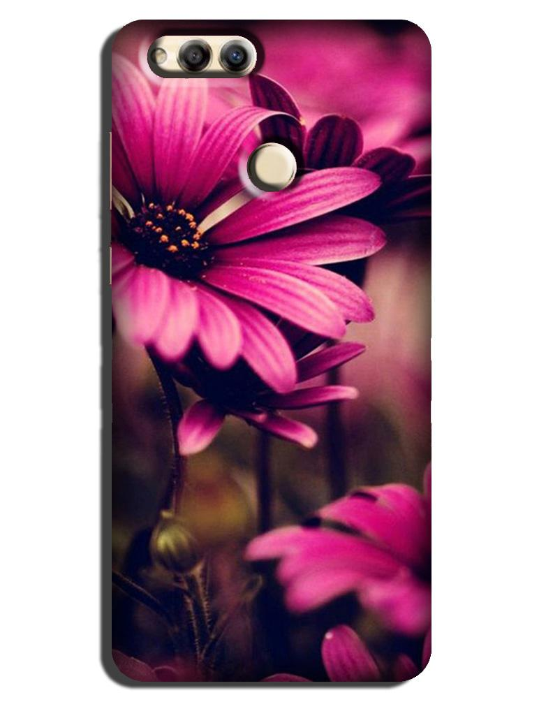 Purple Daisy Case for Honor 7X