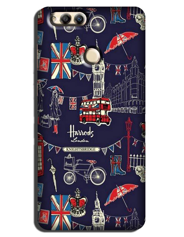 Love London Case for Honor 7X