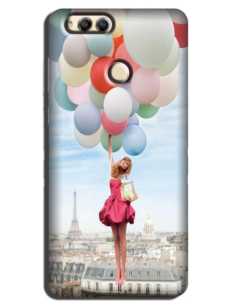 Girl with Baloon Case for Honor 7X