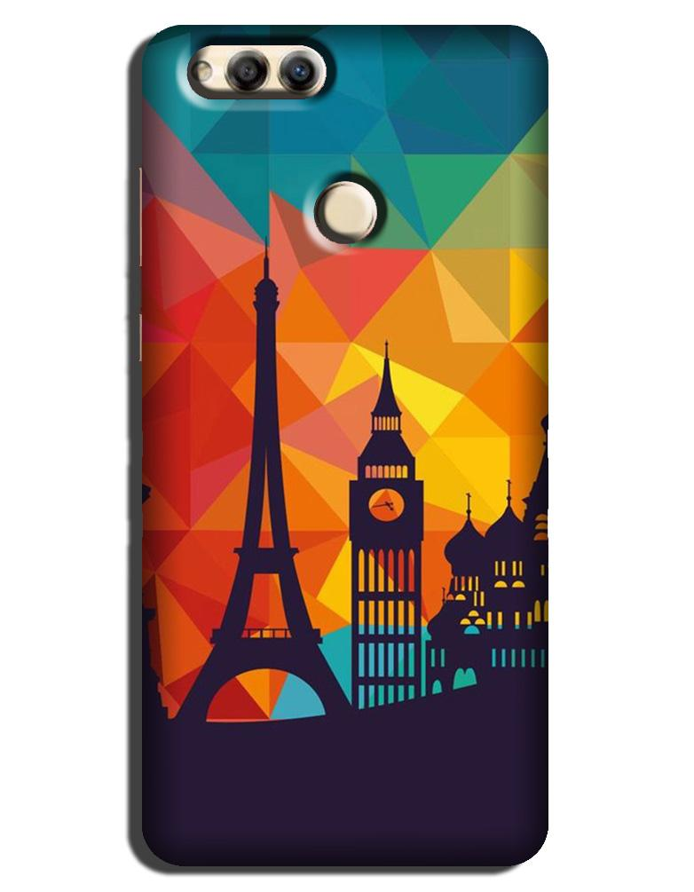 Eiffel Tower Case for Honor 7X