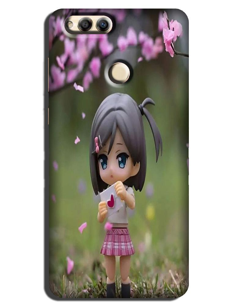 Cute Girl Case for Honor 7X