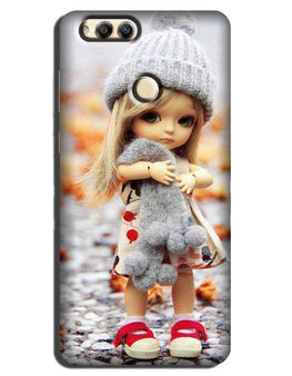 Cute Doll Case for Honor 7A