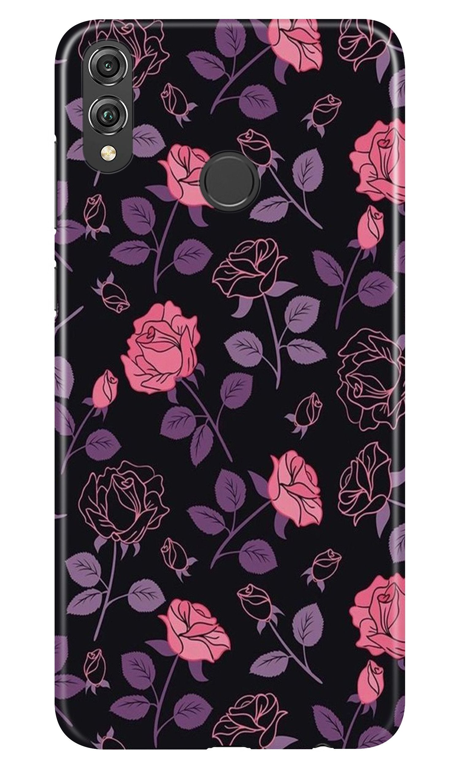 Rose Pattern Case for Honor 8X