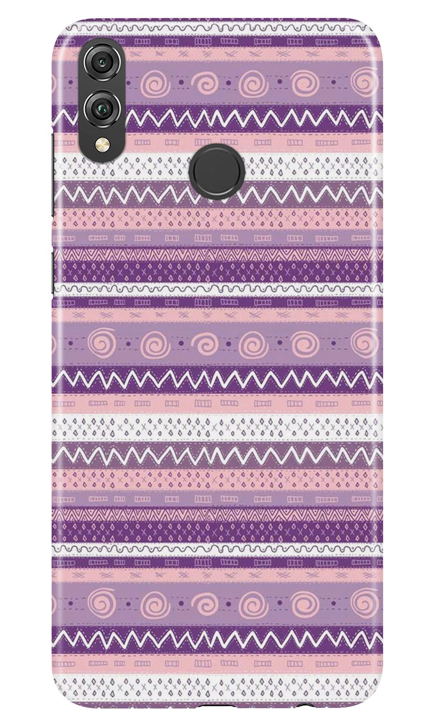 Zigzag line pattern3 Case for Honor 8X