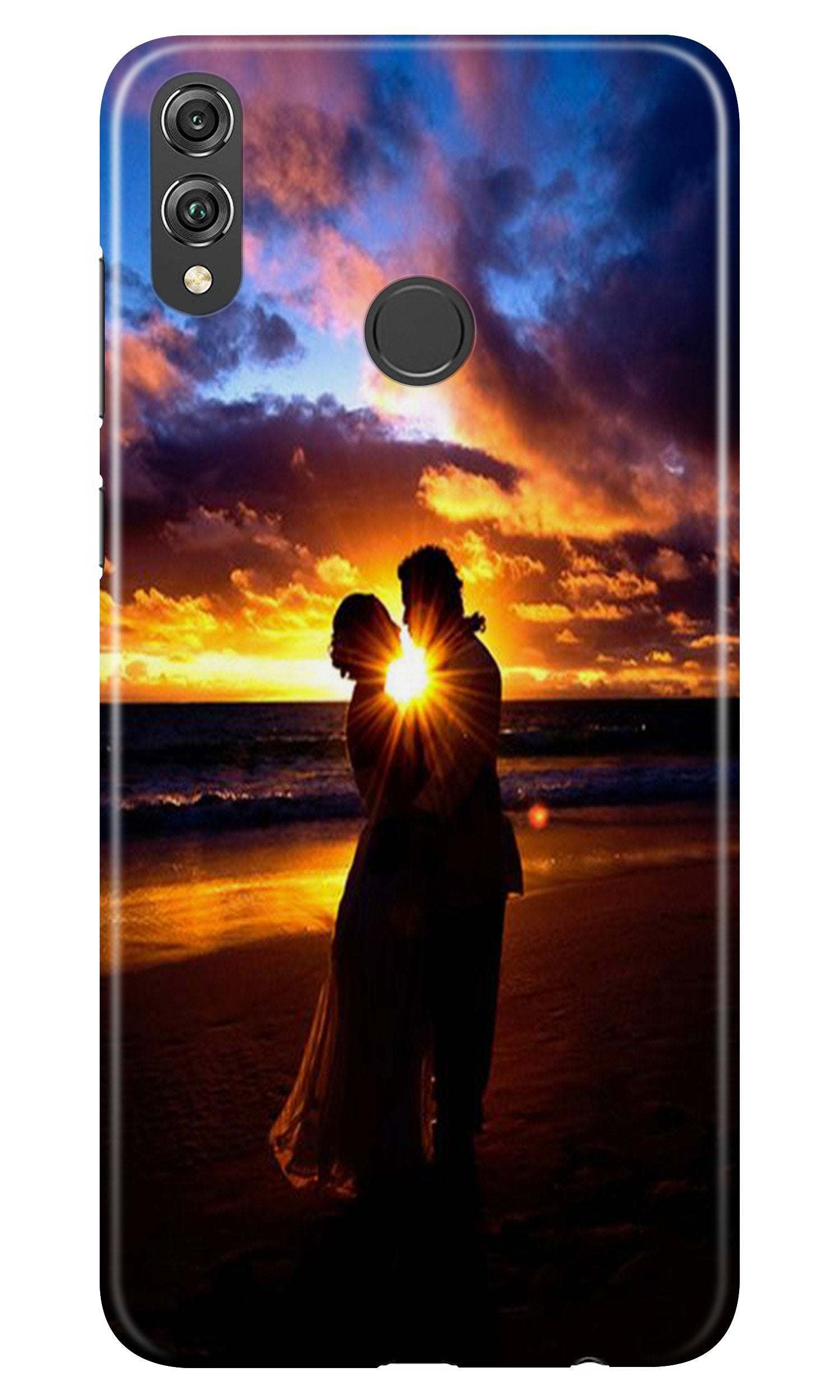 Couple Sea shore Case for Honor 8X