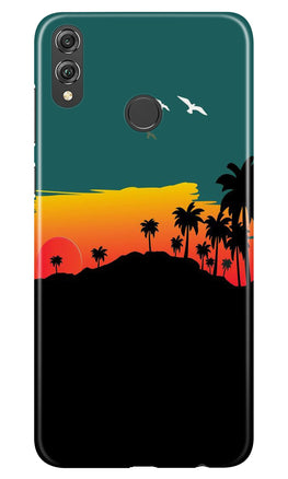 Sky Trees Case for Honor 8X (Design - 191)