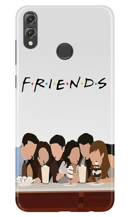 Friends Case for Honor 8X (Design - 200)