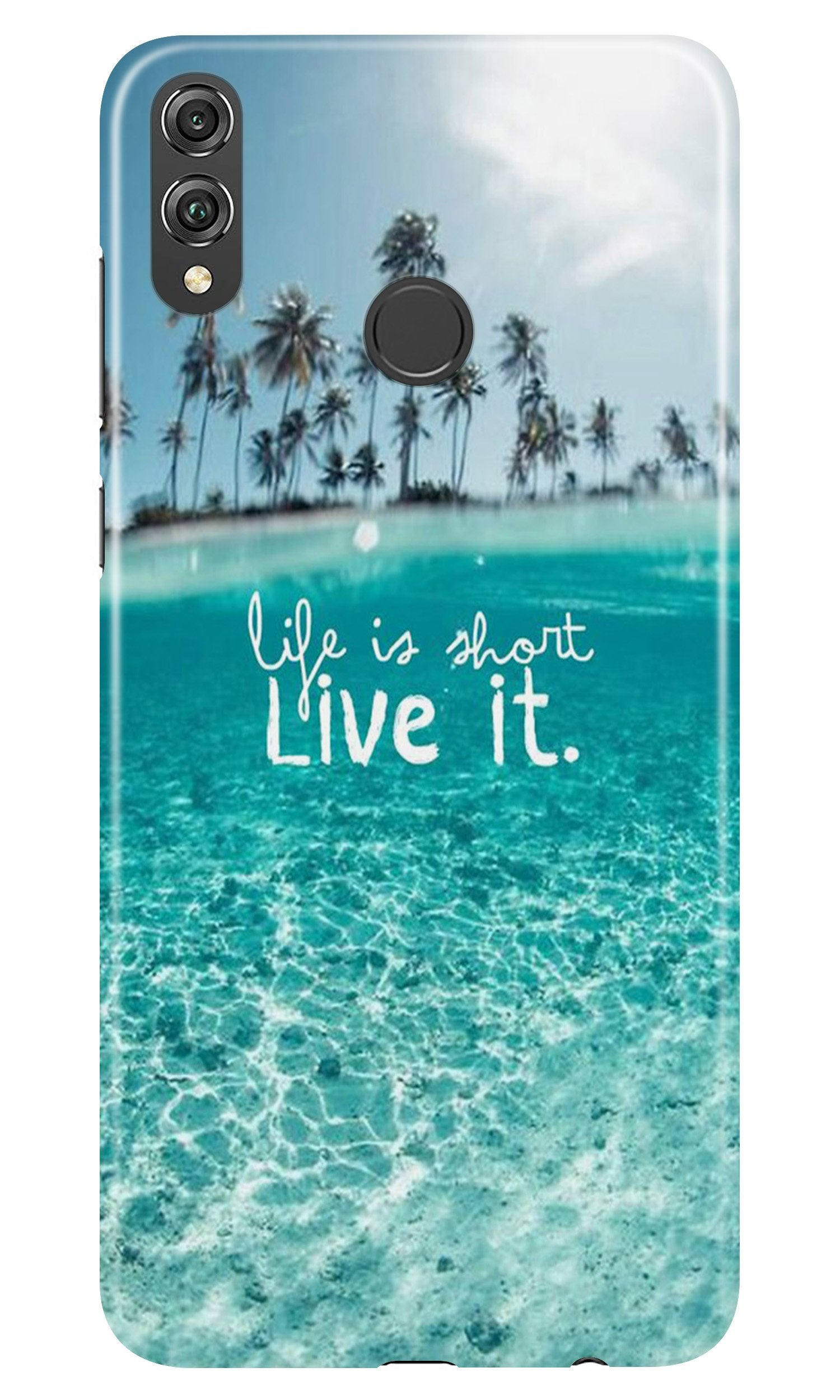Life is short live it Case for Honor Play