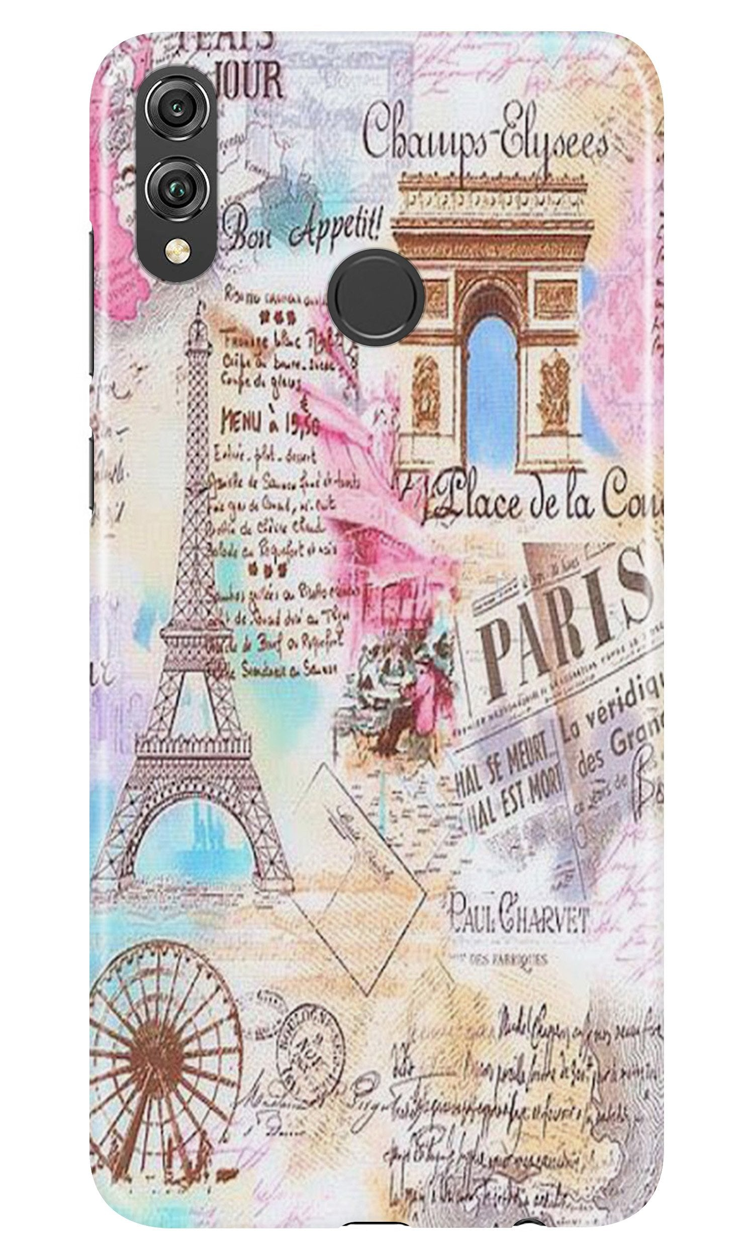 Paris Eiftel Tower Case for Honor Play
