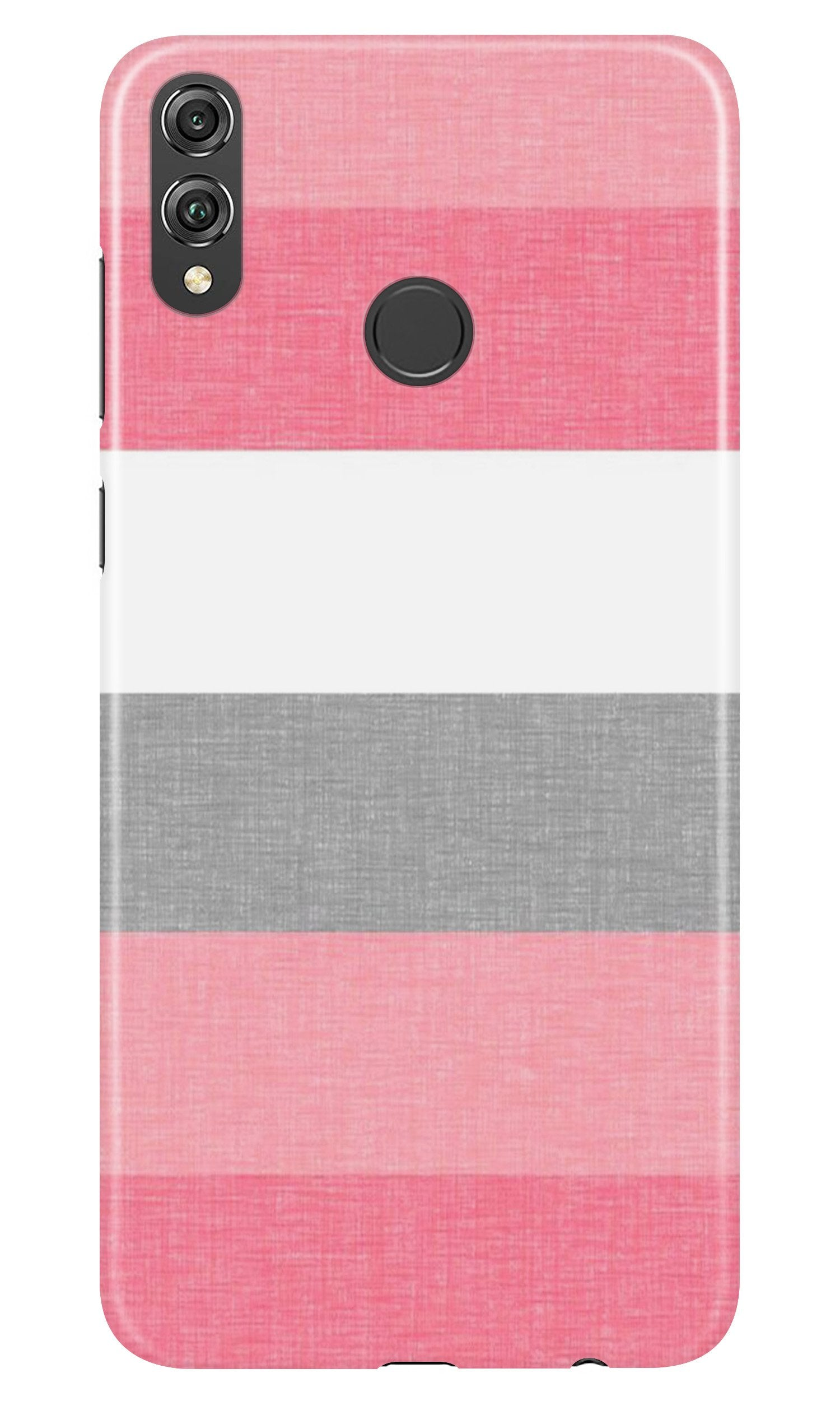 Pink white pattern Case for Honor Play