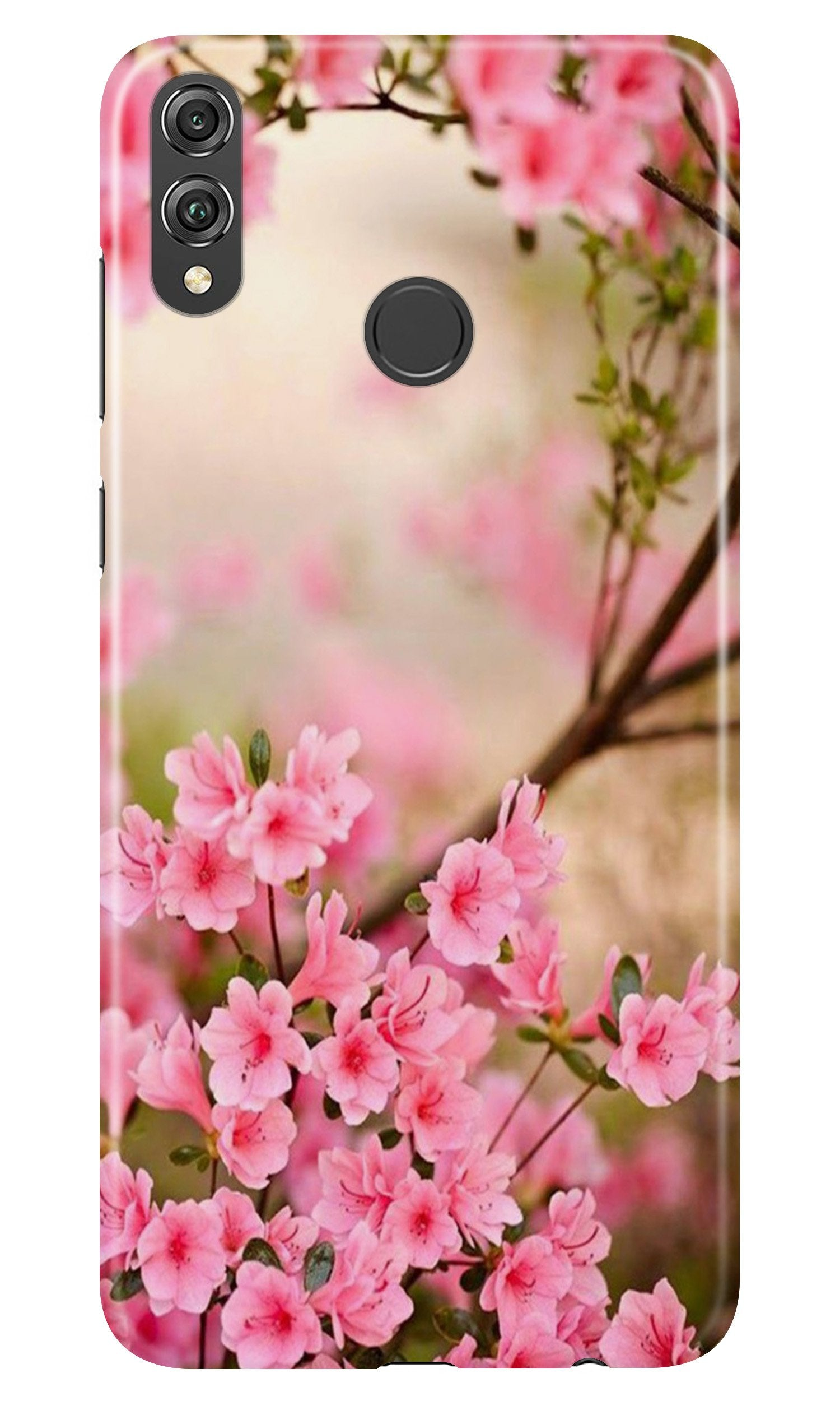 Pink flowers Case for Honor Play