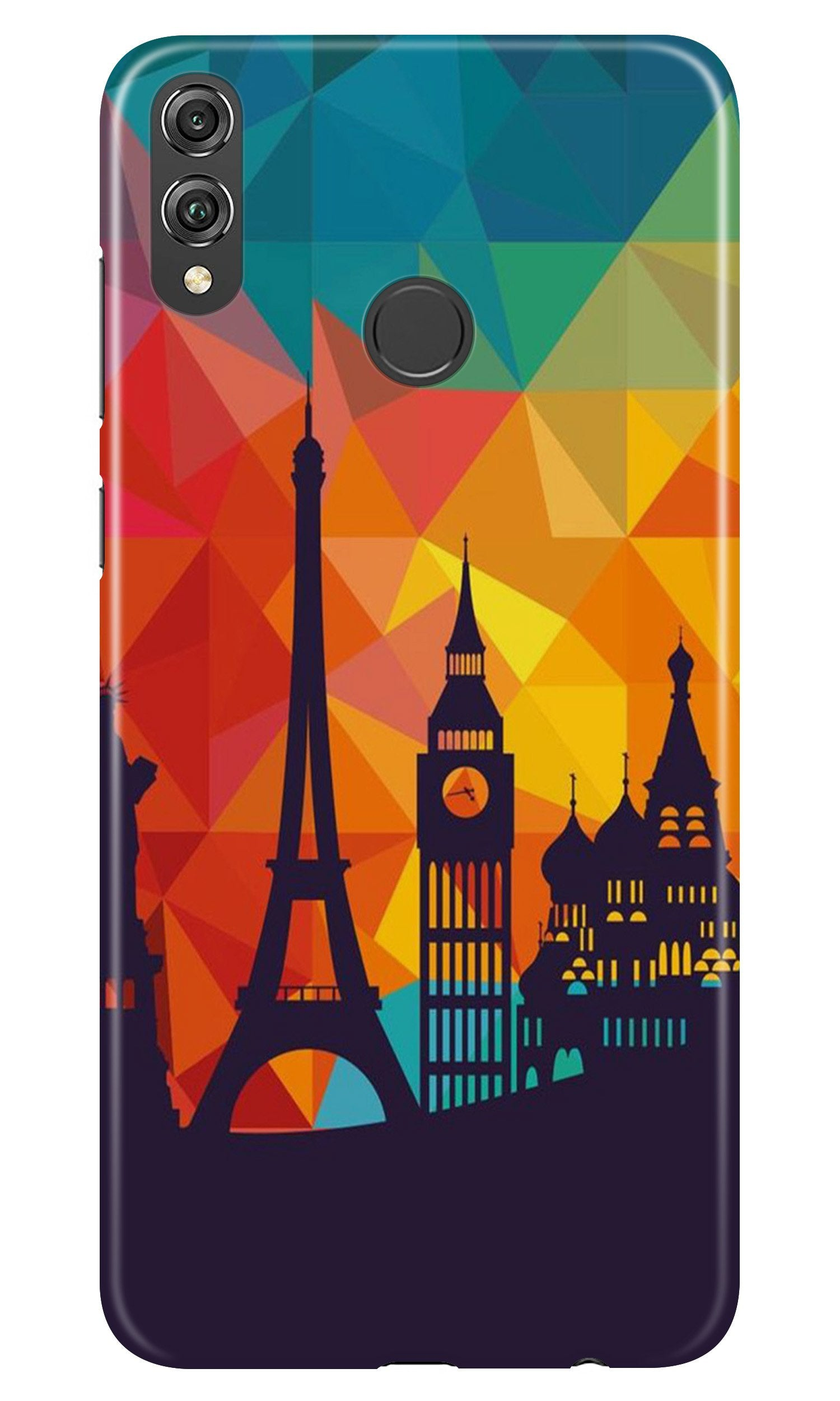 Eiffel Tower Case for Honor 8X