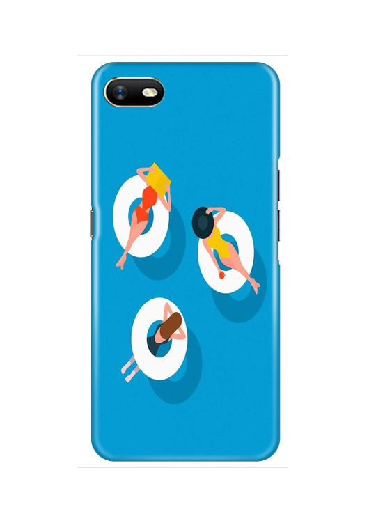 Girlish Mobile Back Case for Oppo A1K  (Design - 306)