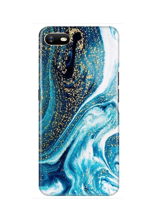 Marble Texture Mobile Back Case for Oppo A1K  (Design - 308)