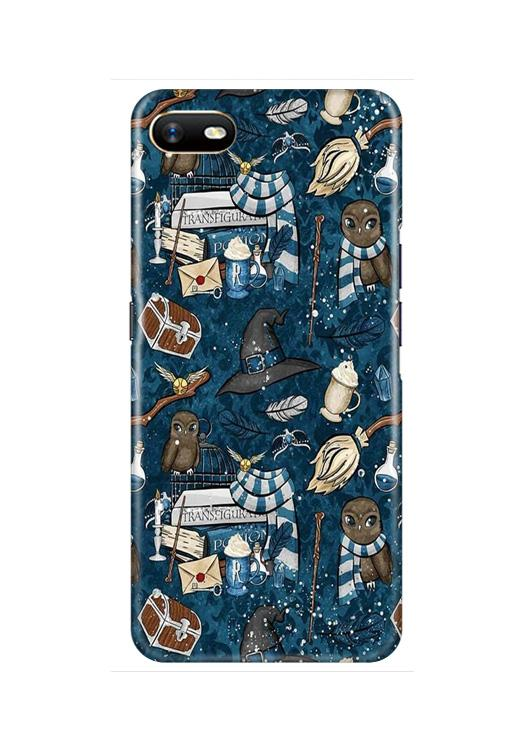 Magic Mobile Back Case for Oppo A1K  (Design - 313)