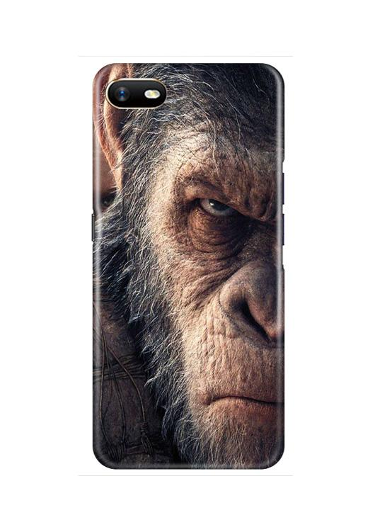 Angry Ape Mobile Back Case for Oppo A1K  (Design - 316)