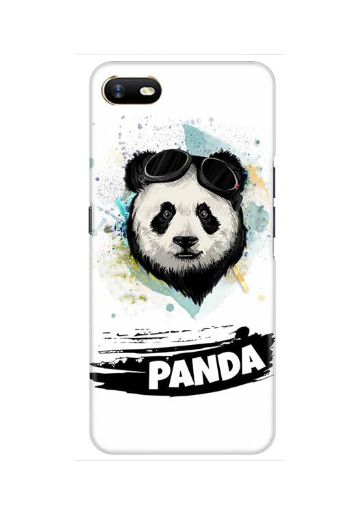 Panda Mobile Back Case for Oppo A1K  (Design - 319)