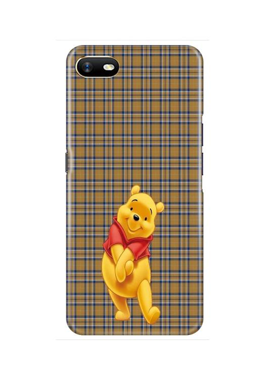 Pooh Mobile Back Case for Oppo A1K  (Design - 321)