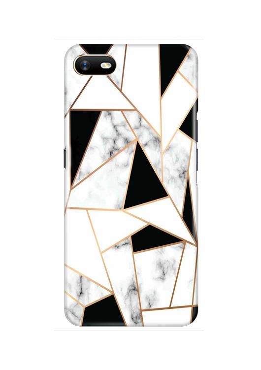 Marble Texture Mobile Back Case for Oppo A1K  (Design - 322)