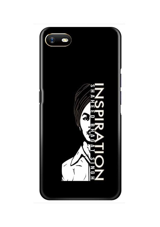 Bhagat Singh Mobile Back Case for Oppo A1K  (Design - 329)