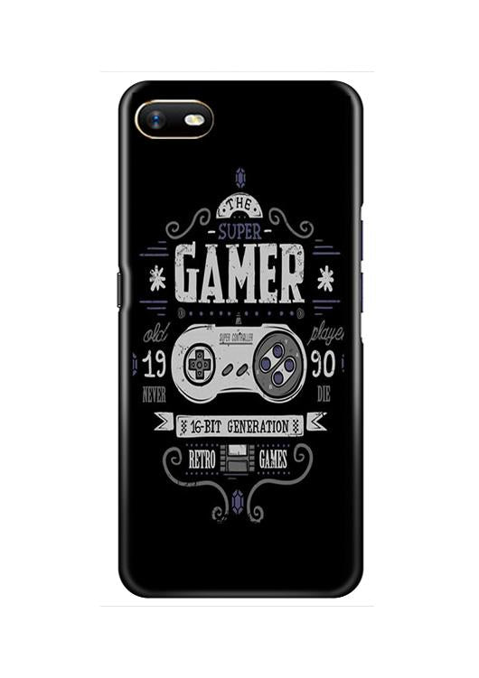 Gamer Mobile Back Case for Oppo A1K  (Design - 330)