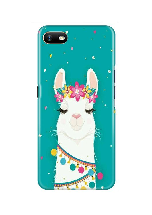 Camel Mobile Back Case for Oppo A1K  (Design - 331)
