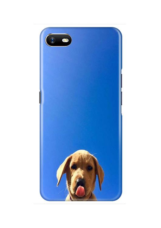 Dog Mobile Back Case for Oppo A1K  (Design - 332)
