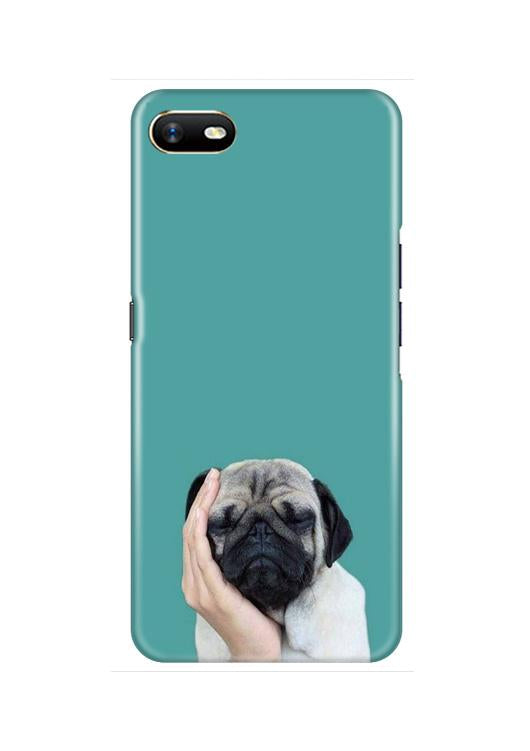Puppy Mobile Back Case for Oppo A1K  (Design - 333)