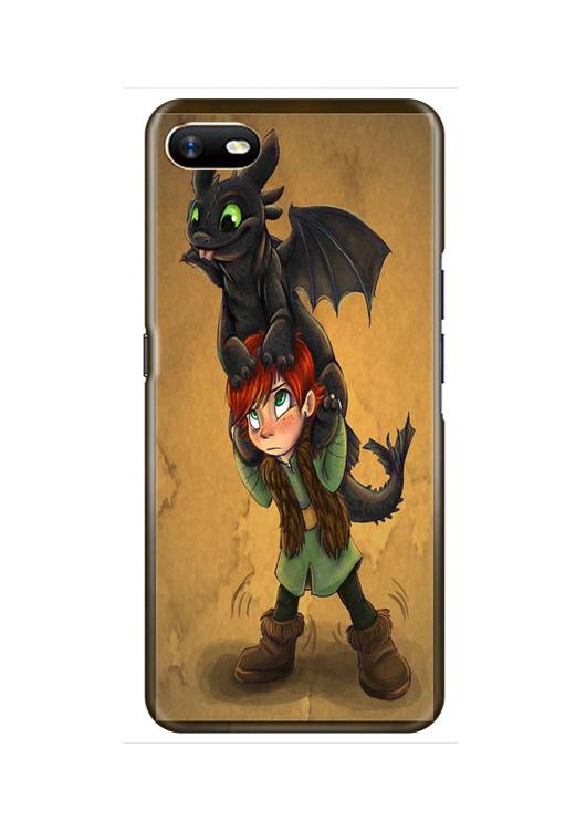 Dragon Mobile Back Case for Oppo A1K  (Design - 336)