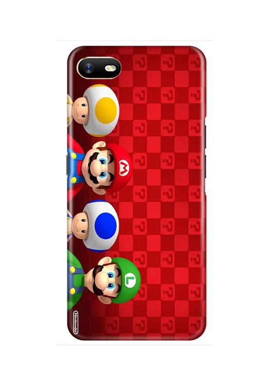 Mario Mobile Back Case for Oppo A1K  (Design - 337)