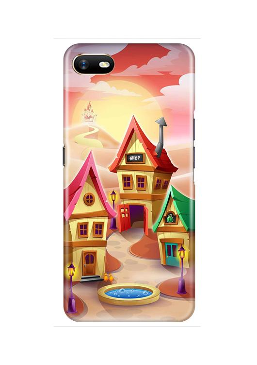 Sweet Home Mobile Back Case for Oppo A1K  (Design - 338)