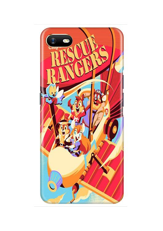Rescue Rangers Mobile Back Case for Oppo A1K  (Design - 341)