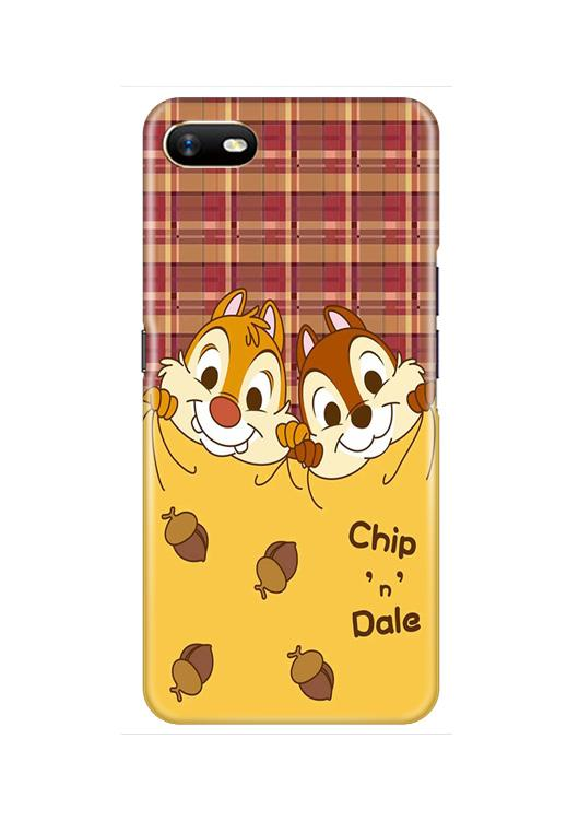 Chip n Dale Mobile Back Case for Oppo A1K  (Design - 342)