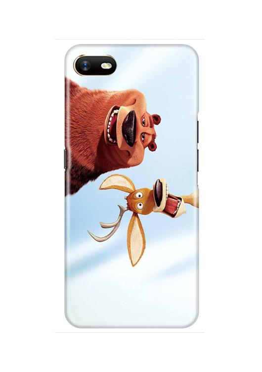 Polar Beer Mobile Back Case for Oppo A1K  (Design - 344)