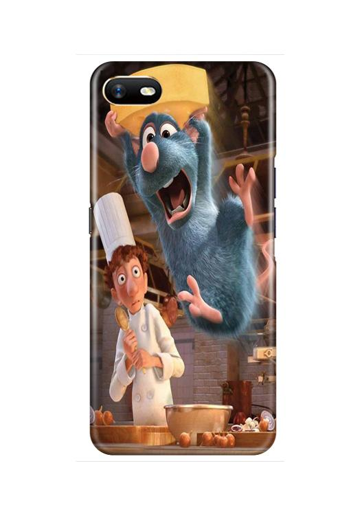 Ratatouille Mobile Back Case for Oppo A1K  (Design - 347)
