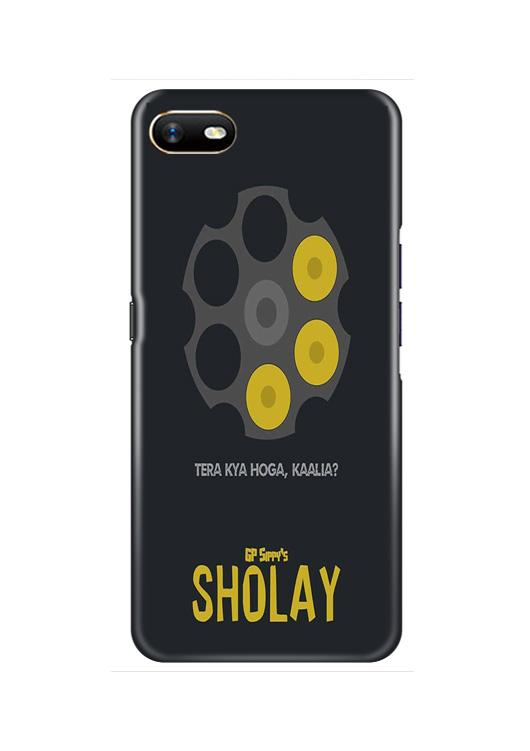 Sholay Mobile Back Case for Oppo A1K  (Design - 356)
