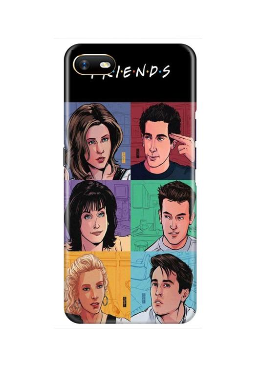 Friends Mobile Back Case for Oppo A1K  (Design - 357)