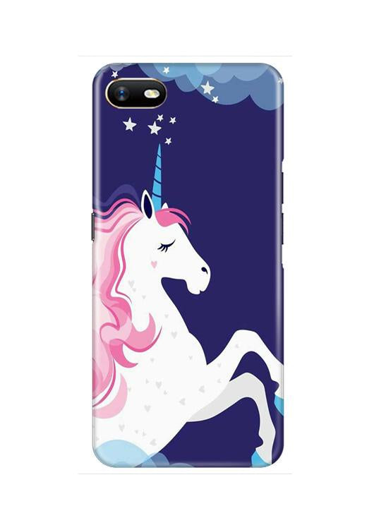 Unicorn Mobile Back Case for Oppo A1K  (Design - 365)