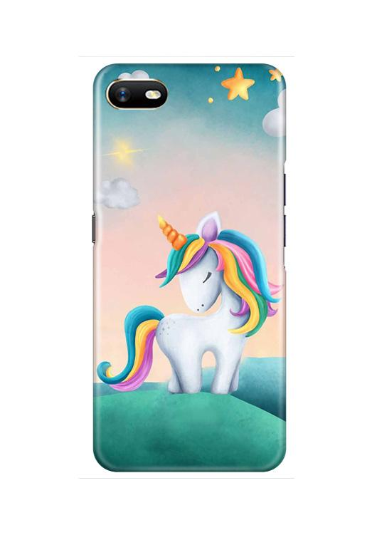 Unicorn Mobile Back Case for Oppo A1K  (Design - 366)