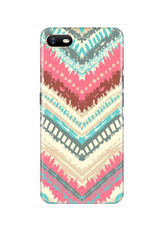 Pattern Mobile Back Case for Oppo A1K  (Design - 368)