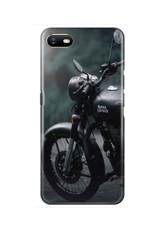 Royal Enfield Mobile Back Case for Oppo A1K  (Design - 380)