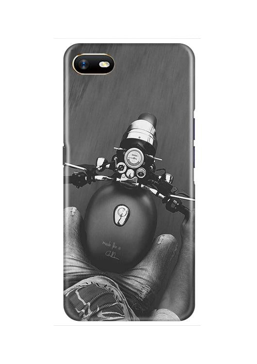 Royal Enfield Mobile Back Case for Oppo A1K  (Design - 382)