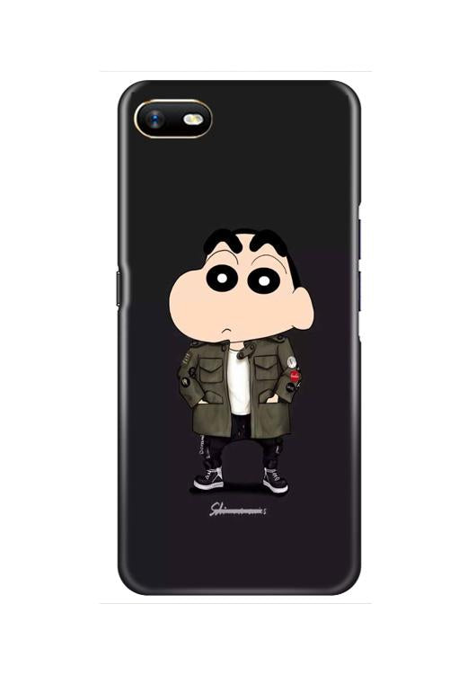 Shin Chan Mobile Back Case for Oppo A1K  (Design - 391)